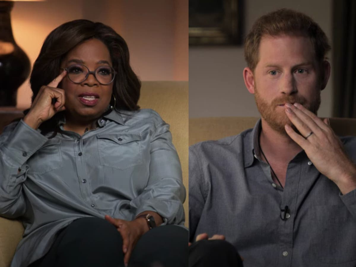Prince Harry and Oprah Winfrey share mental health stories in new series trailer