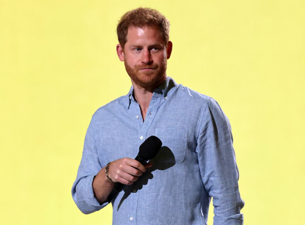 <p>Prince Harry has upset some Americans with his description of the First Amendment </p>