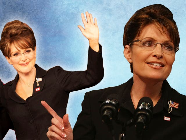 'Hollywood lies!': Julianne Moore as Sarah Palin in Game Change, and the actual Sarah Palin