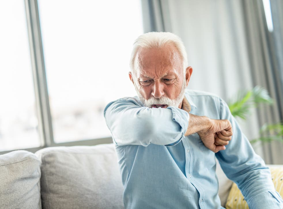 A new persistent cough remains one of the key symptoms of Indian variant Covid