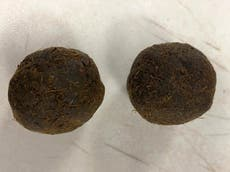 What are cow dung cakes and why are people taking them to the US?