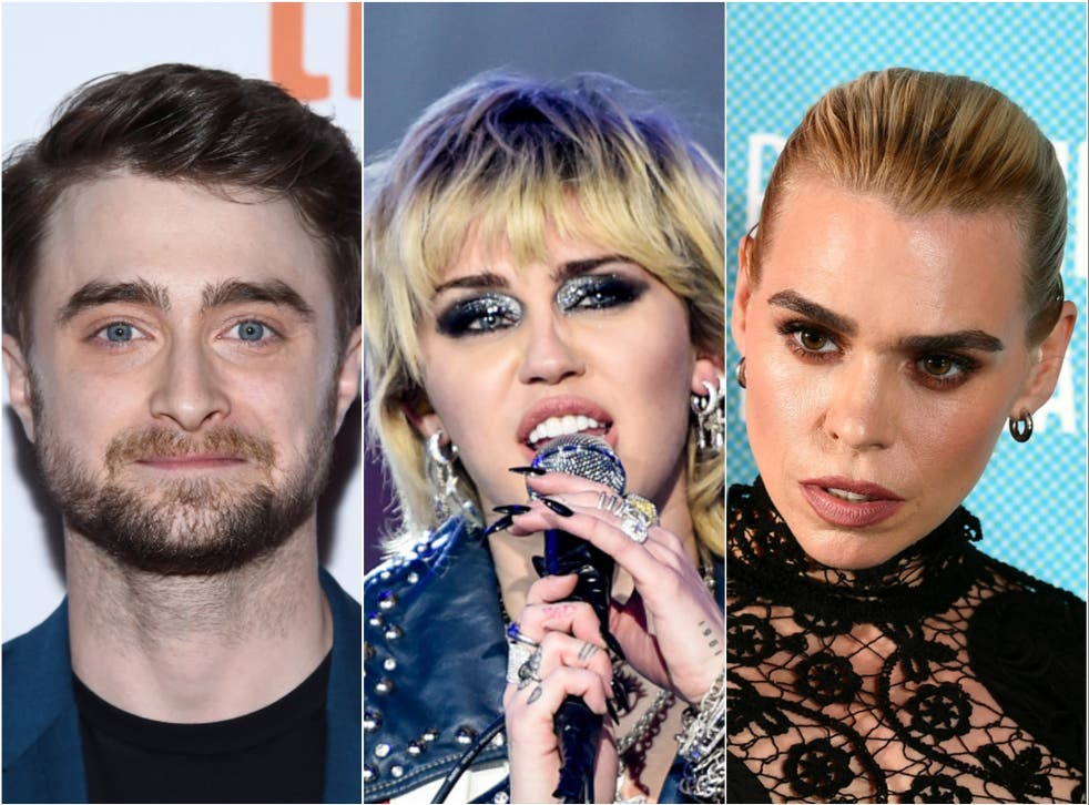 Daniel Radcliffe, Miley Cyrus and Billie Piper are three of the former child stars to have spoken publicly about their experiences