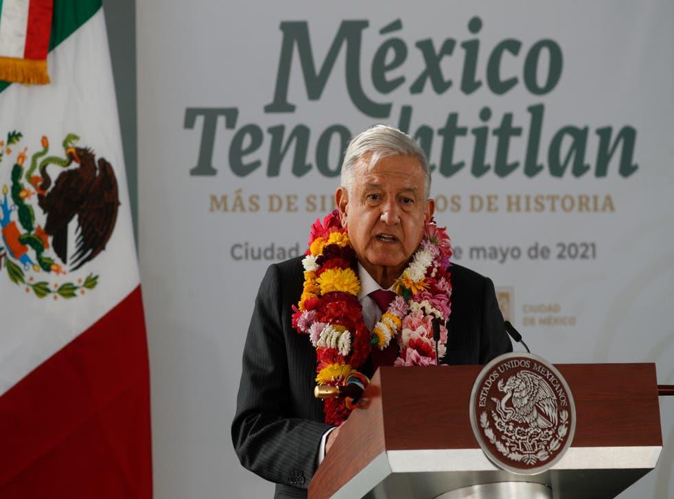 Mexico Anniversary Tenochtitlan