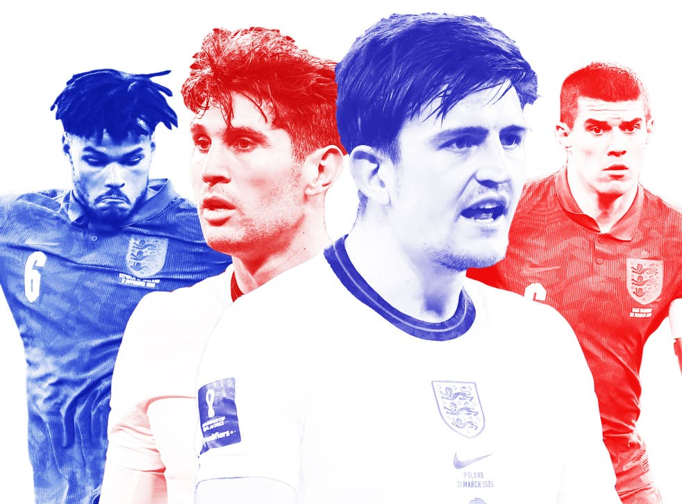 Who will be England's centre-backs at Euro 2020?