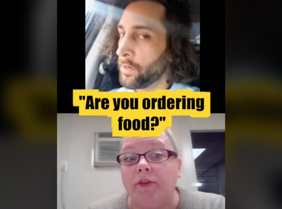 TikToker orders Popeyes during job interview