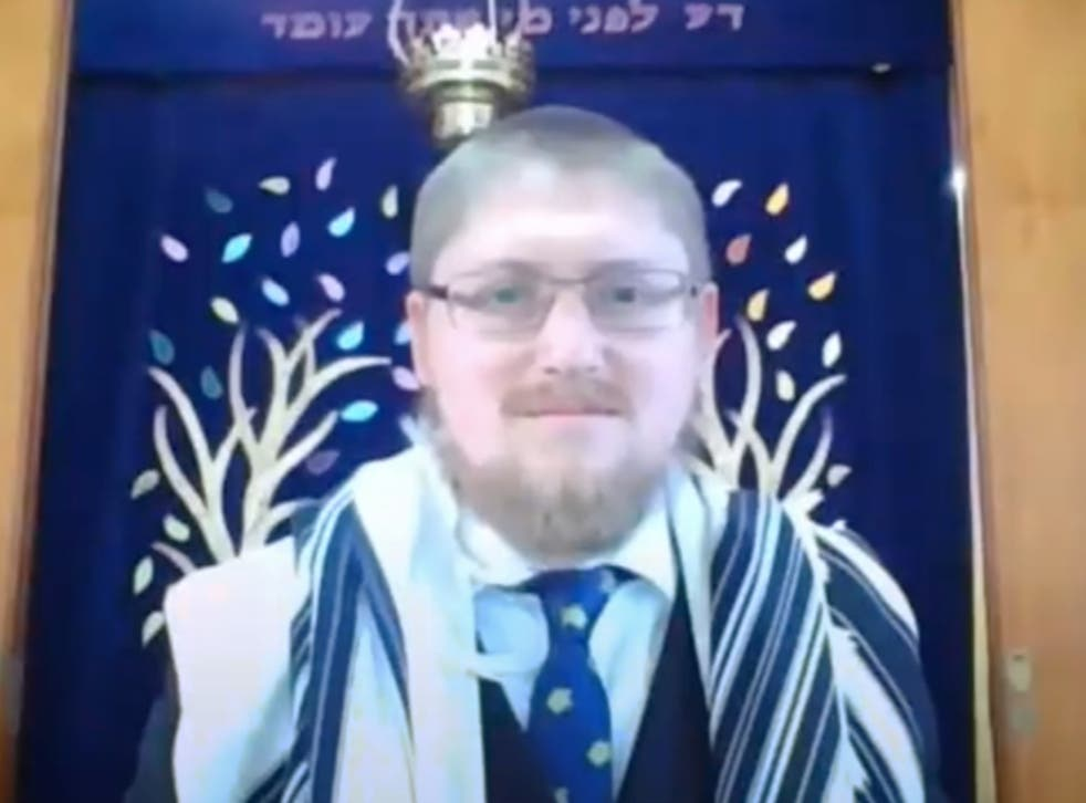 Rabbi Rafi Goodwin was attacked outside his synagogue in Chigwell, north London