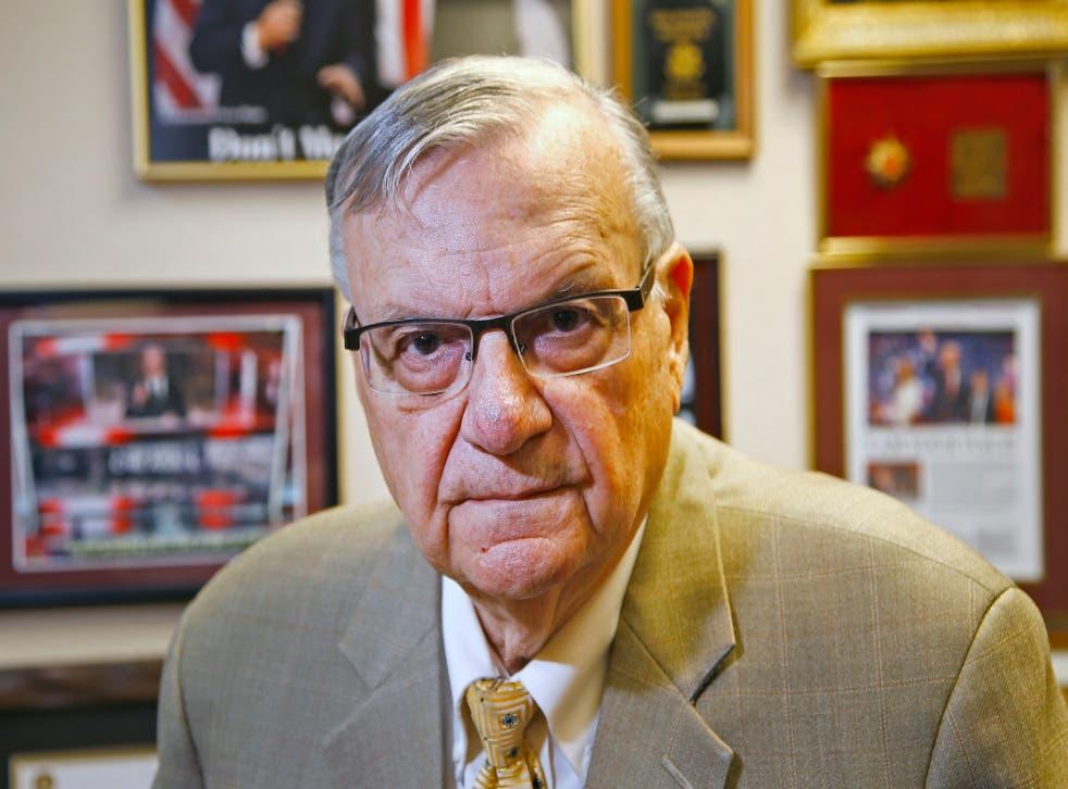 Arizona Sheriff Racial Profiling