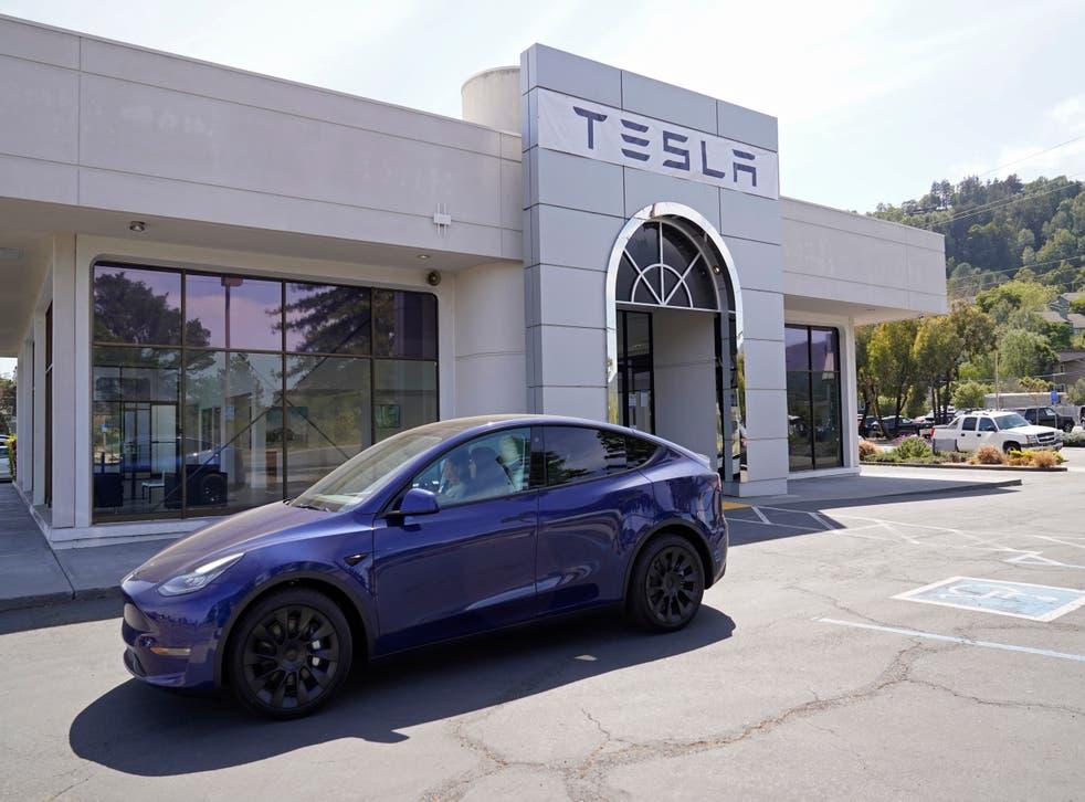Tesla DMV Investigation