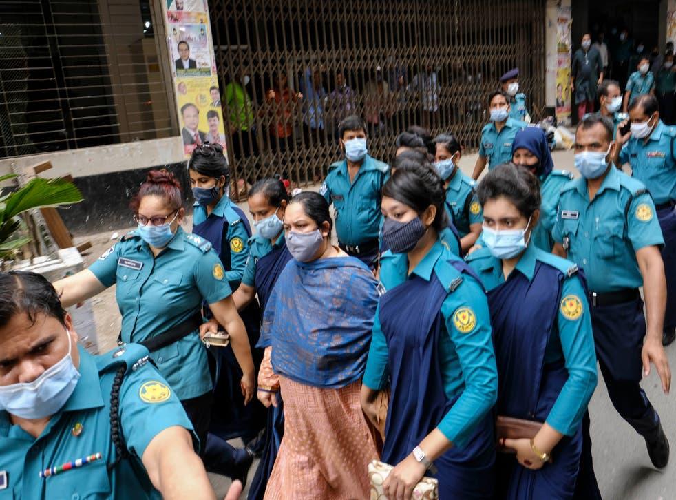 Bangladesh Journalist Arrested