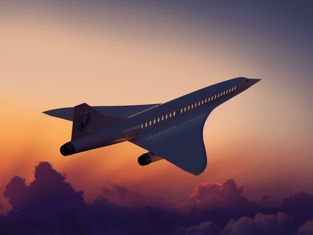 Boom Supersonic's Overture jet design