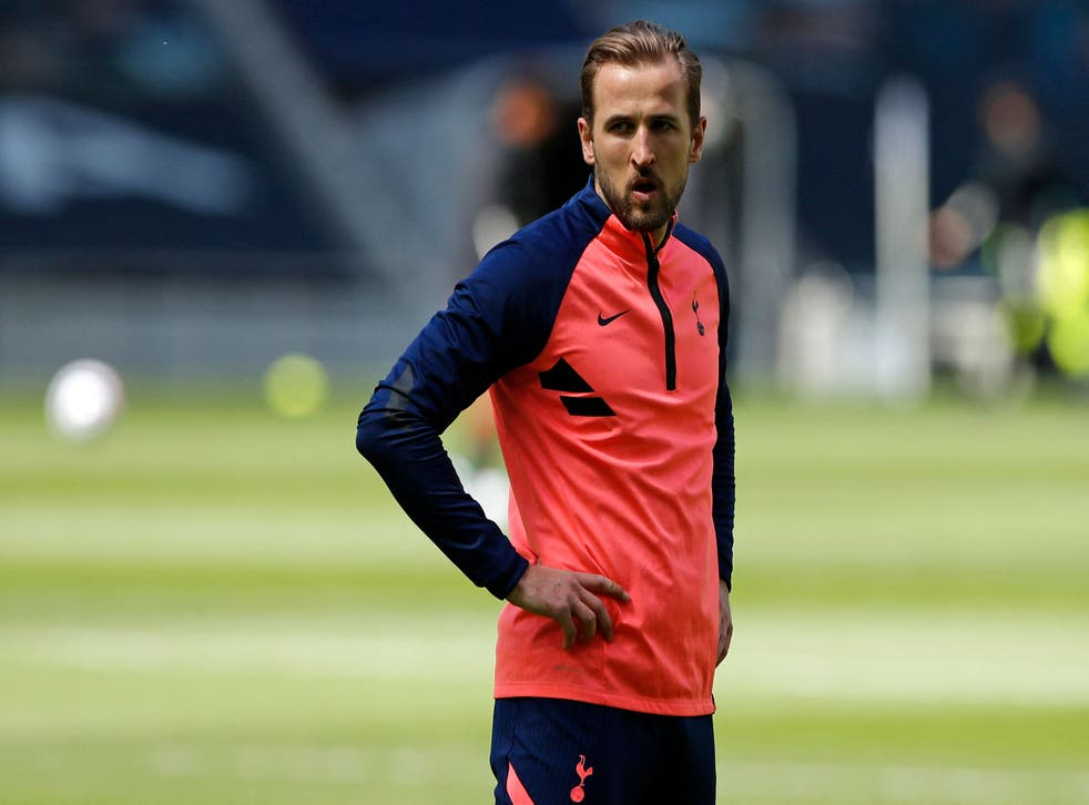 Harry Kane is looking to move on from Tottenham