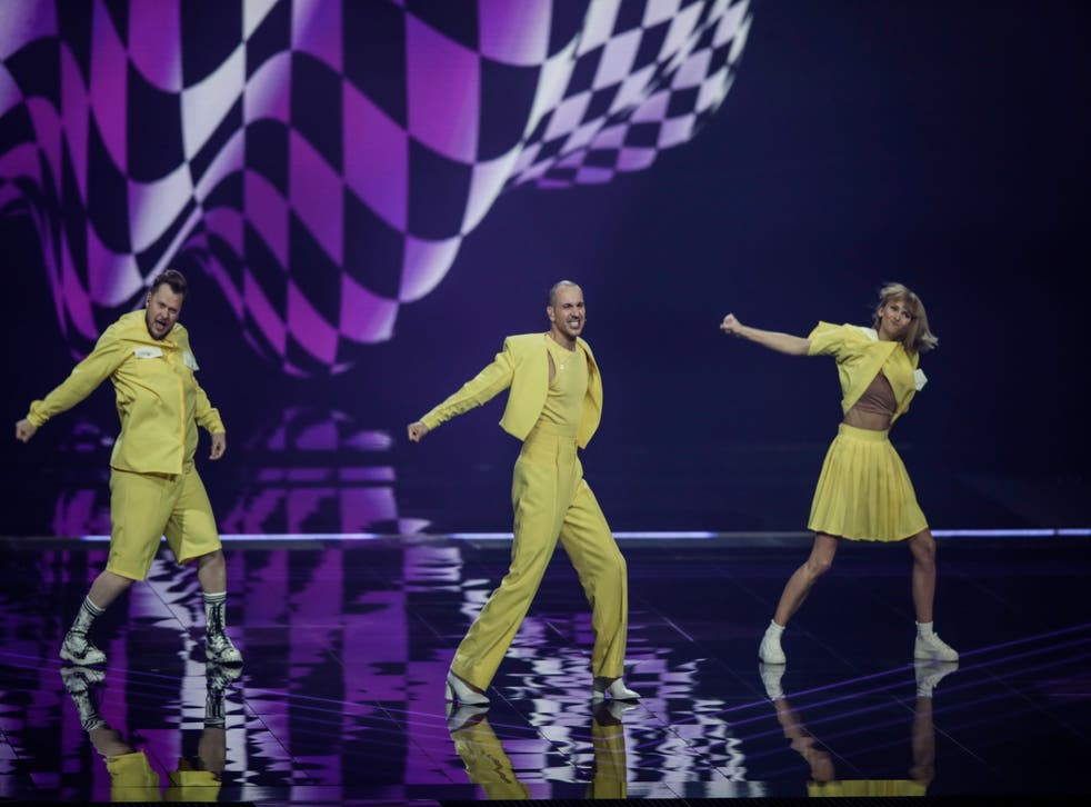 Netherlands Eurovision Song Contest Dress Rehearsal