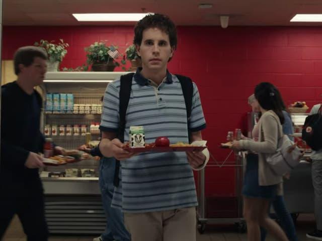 Ben Platt in the Dear Evan Hansen film adaptation