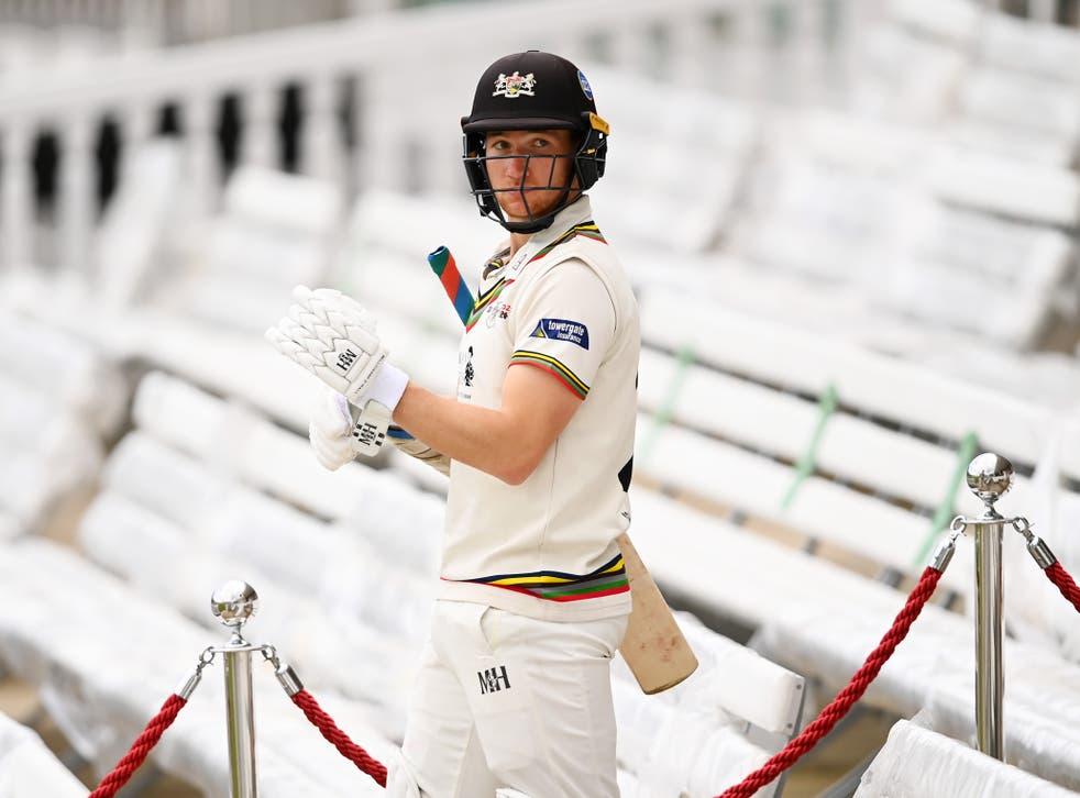 Gloucestershire batsman James Bracey