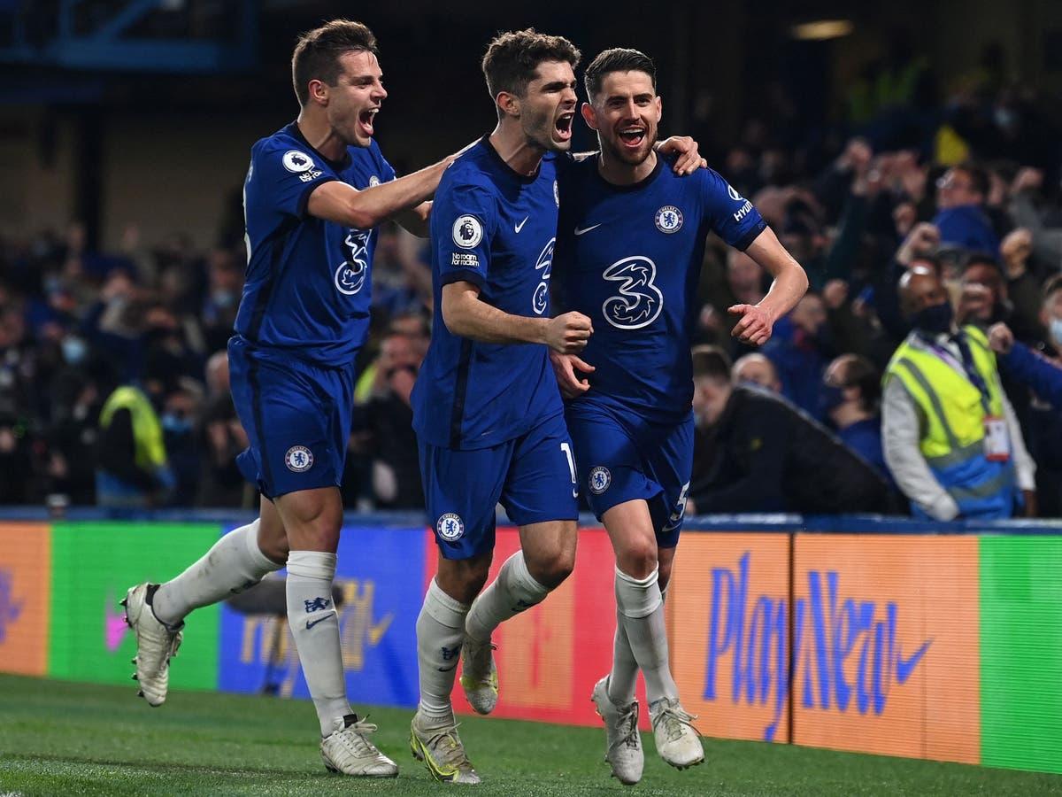 El Chelsea se impone al Leicester (2-1) en el pulso europeo de la Champions League