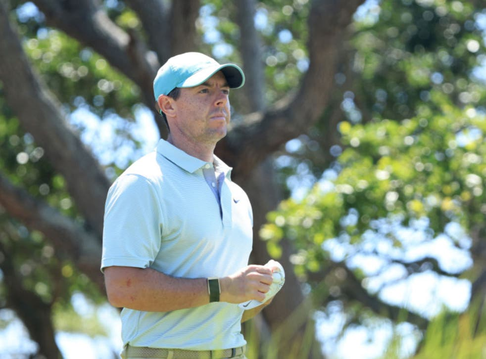 <p>Rory McIlroy is the favourite this week</p>