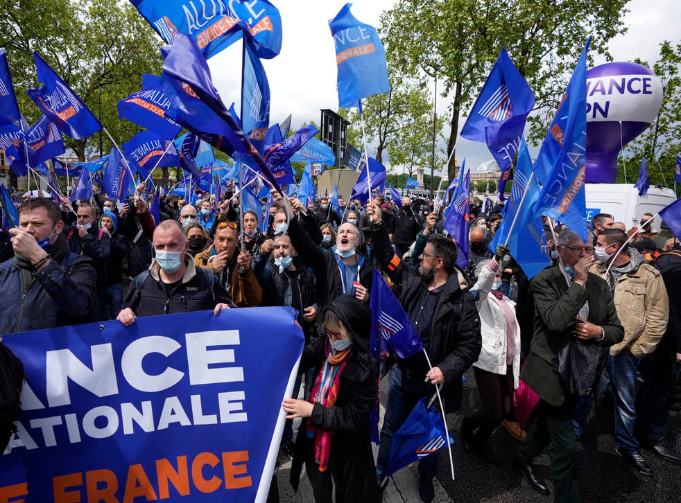 France Angry Police