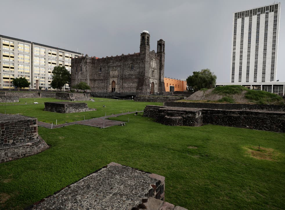 APTOPIX Mexico Conquest 500 Years