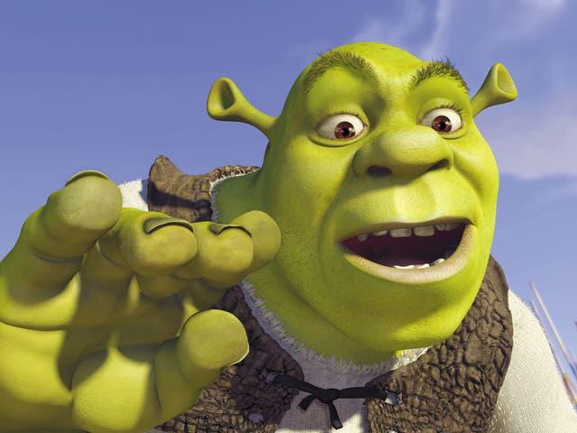 Ícono flatulento: Shrek en Shrek, expresado por Mike Myers