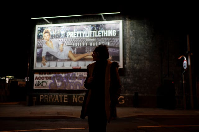 <p>Sex worker waits for customer in November 2018 on streets of Holbeck in Leeds which was the only 'managed' zone for prostitution in Britain</p>