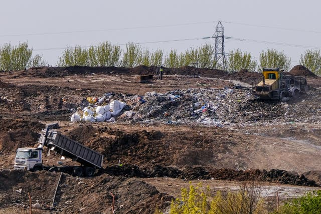 <p>Walleys Quarry in north Staffordshire has been criticised by local residents over toxic smells</p>
