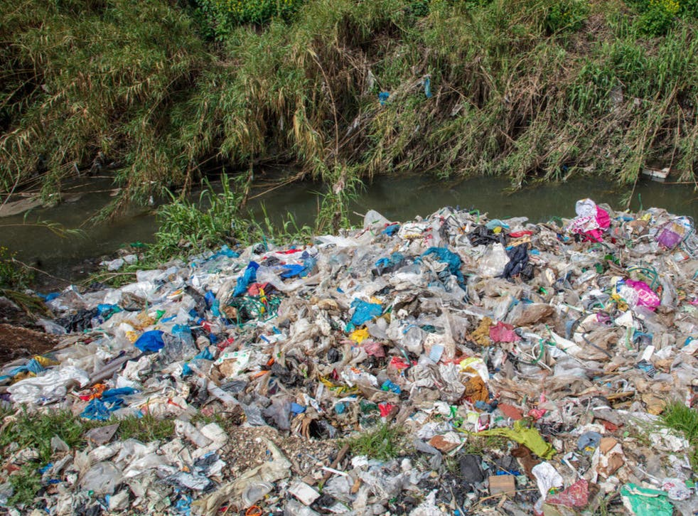 Plastic packaging from UK and global brands were found strewn across land at 10 sites