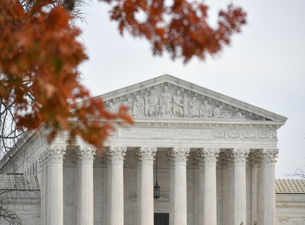 <p>File US Supreme Court in Washington, DC. The woman used 19th century law to fight her case</p>