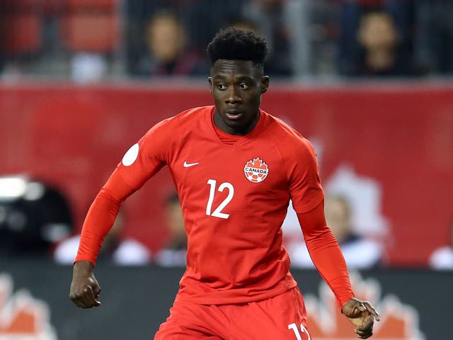 <p>Alphonso Davies has grown into Canada's brightest star</p>