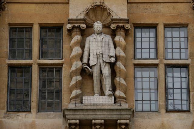 Britain Rhodes Statue