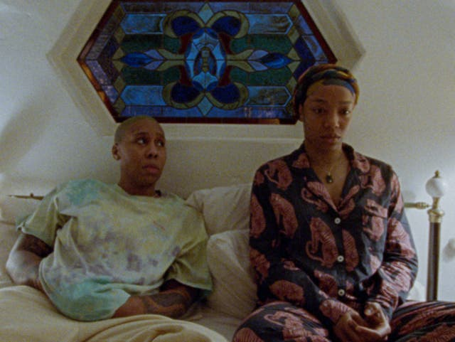 <p>Worth waiting for: Lena Waithe as Denise and Naomi Ackie as Alicia in 'Master of None'</p>
