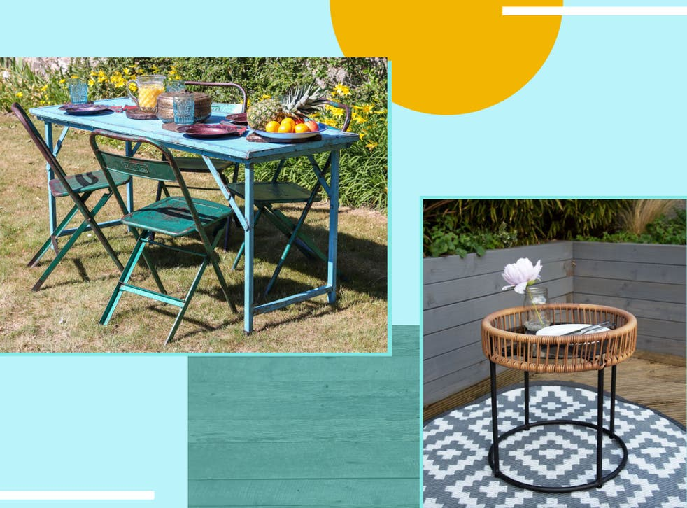 Best Outdoor Table Big Small And, Small Garden Furniture Uk