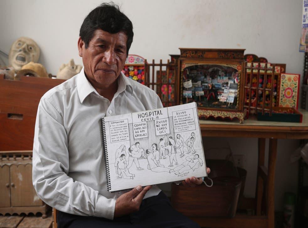CORONAVIRUS-PERU ARTISTA