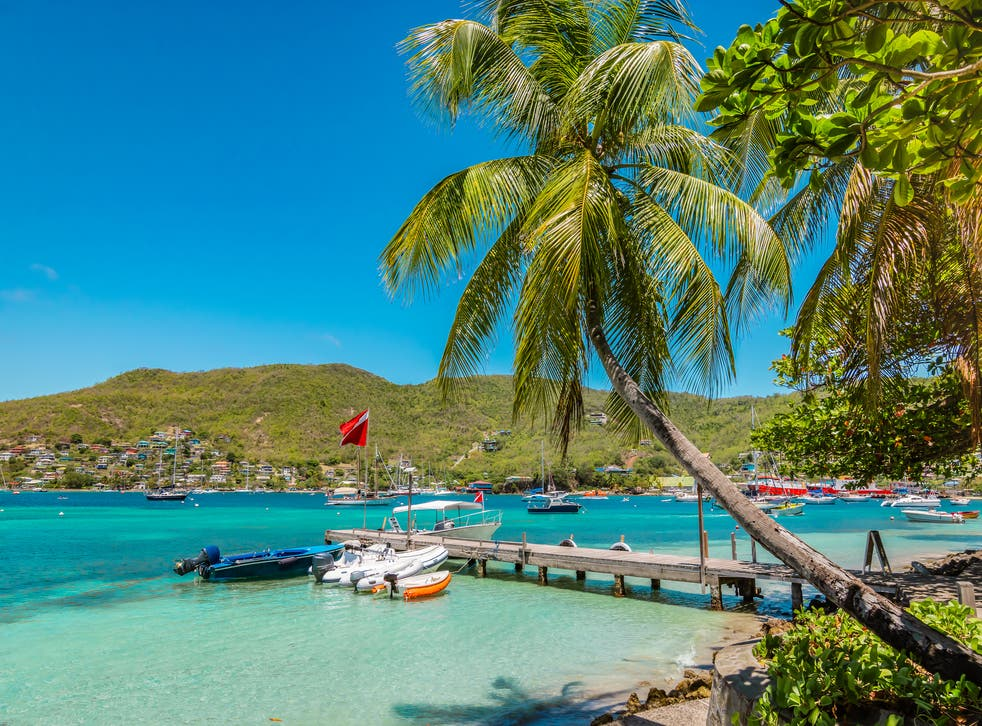<p>The harbour of Port Elisabeth in Bequia, part of Saint Vincent and the Grenadines.</p>
