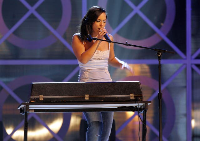 <p>File image: Alicia Keys performs onstage during the 2004 Billboard Music Awards</p>