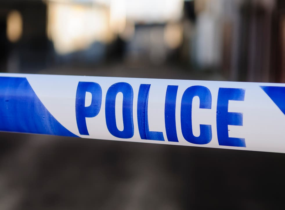 <p>Investigators cordoned off Beethoven and Bruckner Street in W10 following the episode</p>