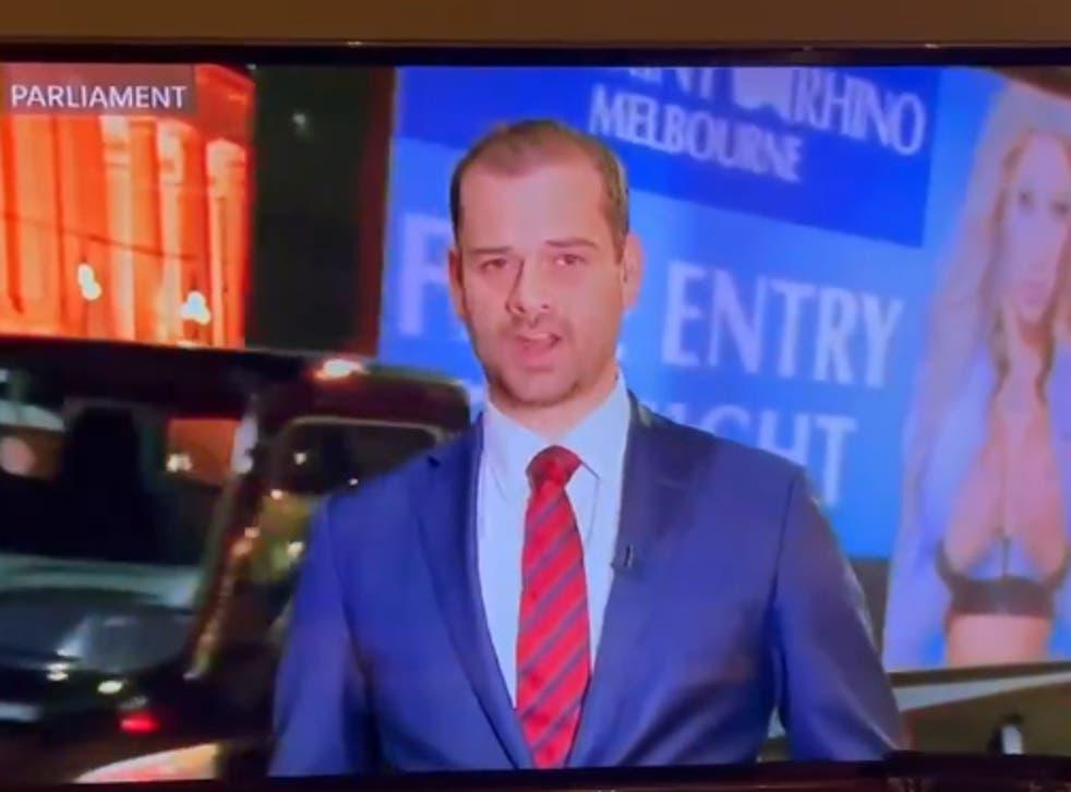 <p>The moment where  Spearmint Rhino strip club got free advertising on ABC News</p>