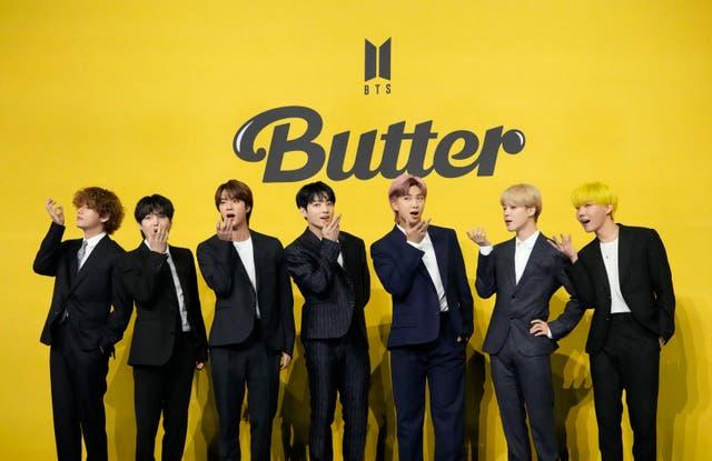 APTOPIX South Korea BTS Butter