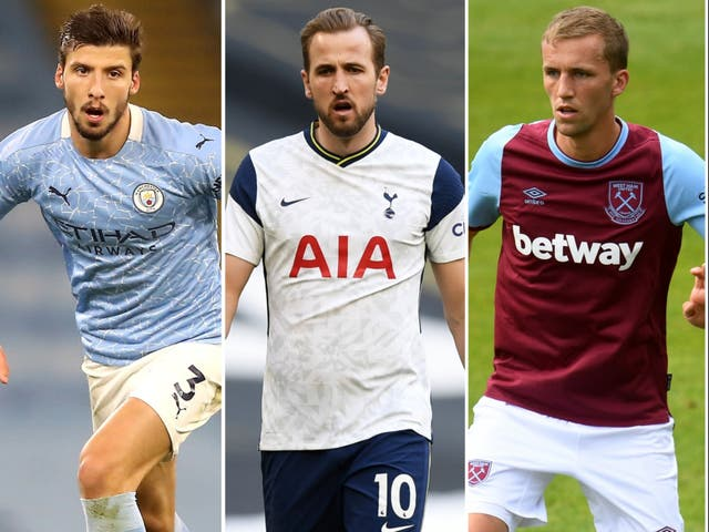 Ruben Dias, Harry Kane and Tomas Soucek have all impressed this season