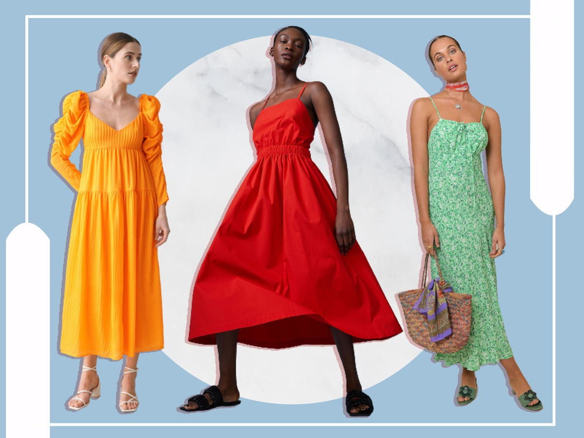 Wedding guest dresses 20 Summer and winter appropriate outfits ...