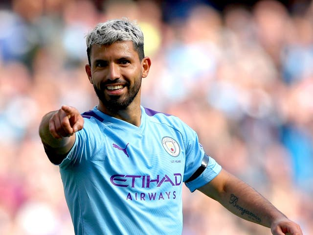 Sergio Aguero is set for one final Manchester City appearance at the Etihad Stadium