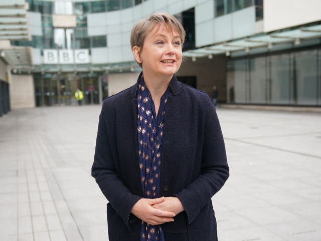<p>Yvette Cooper says government must address 'this injustice' if it is actually 'serious' about trying to solve violence against women and girls</p>