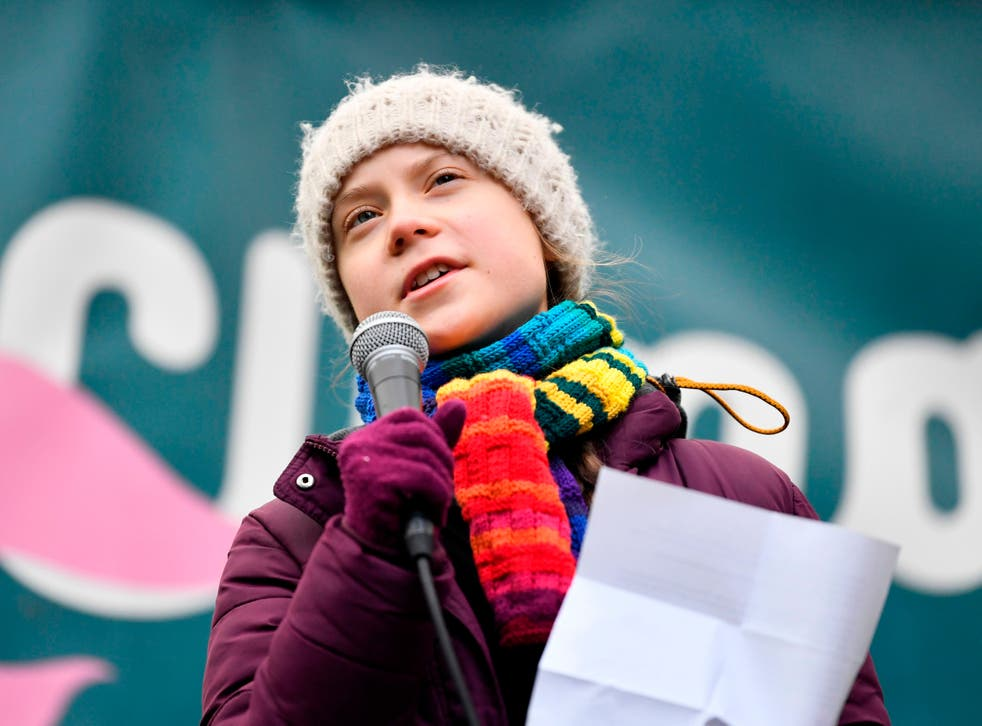 <p>Greta Thunberg was trolled by China for criticising the country's environmental record</p>