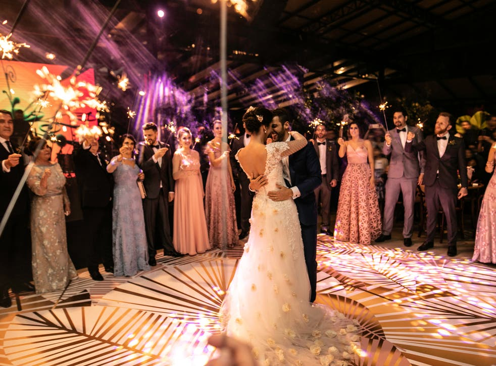 <p>Large weddings with more than 30 guests will be allowed to resume from 21 June 2021, ministers are reportedly set to announce</p>