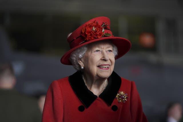 <p>The Queen</p>