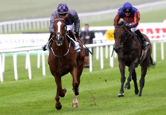 Mac Swiney comes home in front at the Curragh