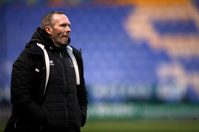 Lincoln manager Michael Appleton demanded more from his players at the Stadium of Light
