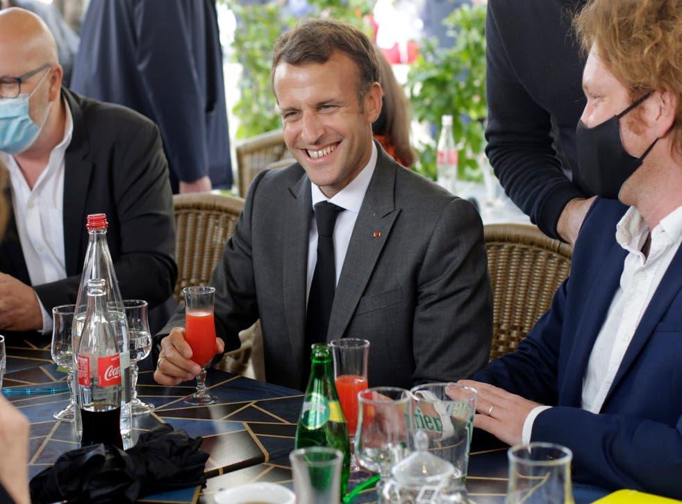 <p>Emmanuel Macron, who broke away and won</p>