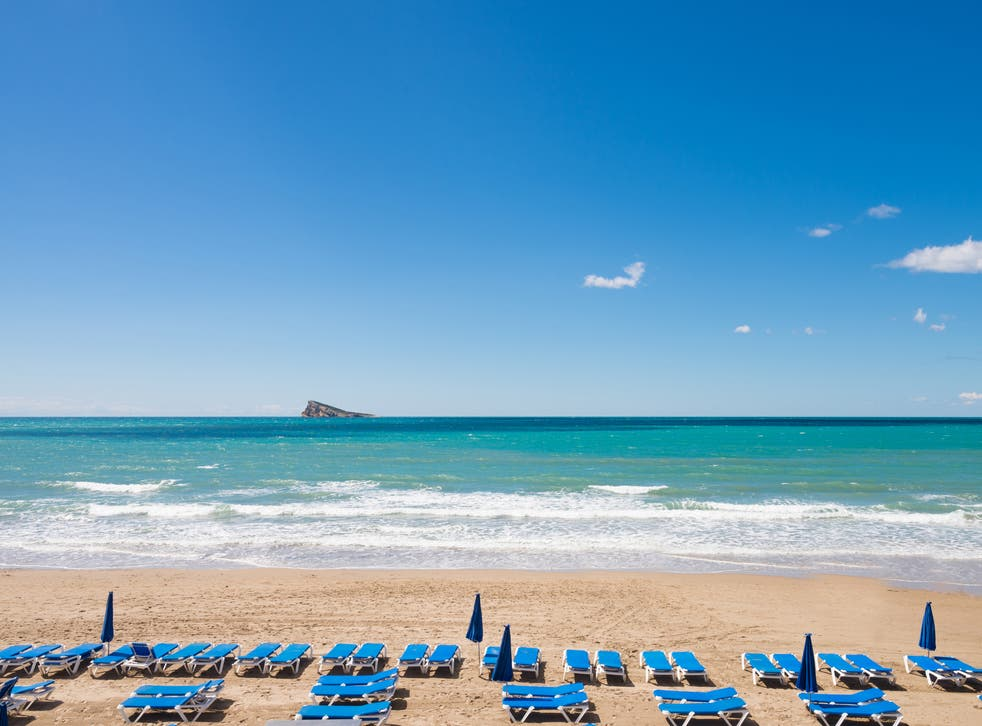 <p>Benidorm is a popular holiday spot for Britons</p>