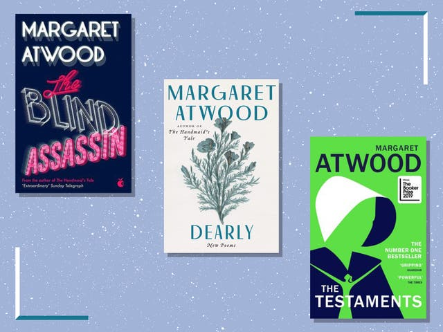 <p>Atwood first began publishing in the 1960s</p>