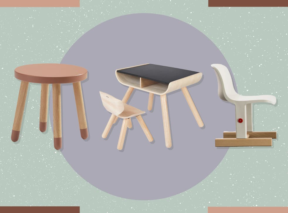 <p>Make sure your chosen set is the right size – little ones should be able to sit with their feet firmly on the ground</p>